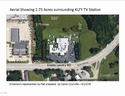 Lafayette Residential Lots & Land For Sale: 1808-A Eraste Landry