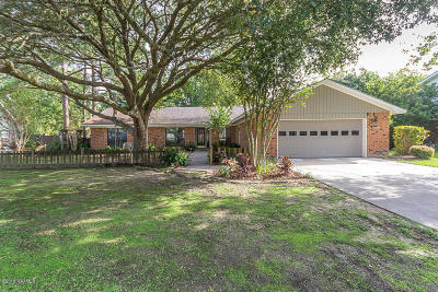 Lafayette Single Family Home For Sale: 221 Constitution Drive