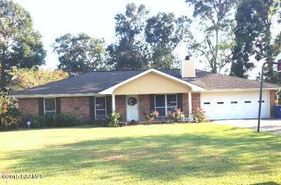 St. Martinville Single Family Home For Sale: 148 Teresa Drive