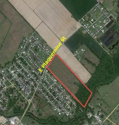 Acadia Parish Residential Lots & Land For Sale: 0000 E Plaquemine Street