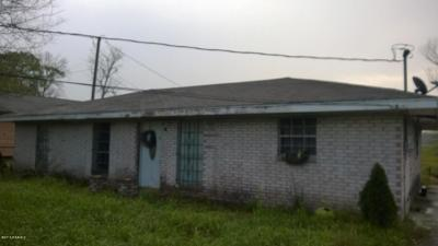 Jeanerette LA Single Family Home For Sale: $45,000