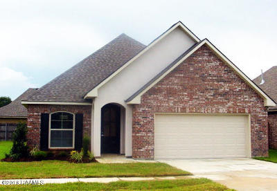 Carencro Single Family Home For Sale: 407 Wisteria Bend