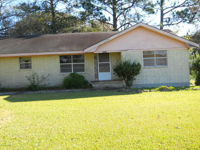 New Iberia Single Family Home For Sale: 7918 Loreauville Road