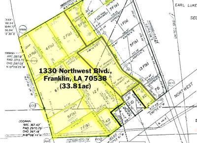 St Mary Parish Residential Lots & Land For Sale: 1330 Northwest Blvd