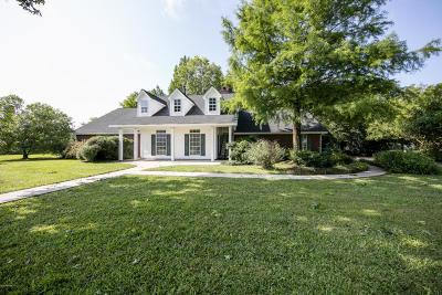Carencro Single Family Home For Sale: 112 La Rue Christ-Roi
