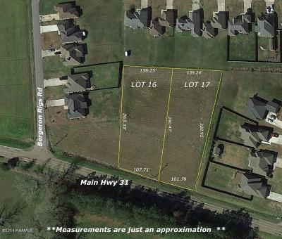 St Martin Parish Residential Lots & Land For Sale: Lot 16 Main Hwy 31