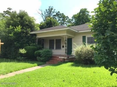 Eunice Single Family Home For Sale: 450 S 3rd Street