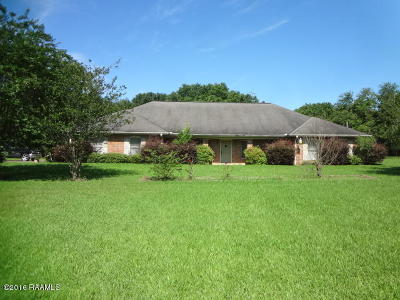Ville Platte Single Family Home For Sale: 1676 Wilson Campbell Road