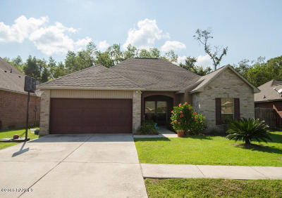 Carencro Single Family Home For Sale: 301 Rue Ciel