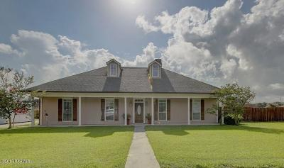 Carencro Single Family Home For Sale: 106 White Tail Drive