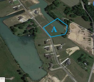 Acadia Parish Residential Lots & Land For Sale: Tr A & A-1 Lake Cove Drive