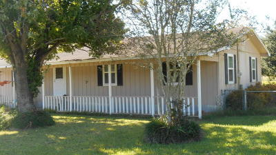 Acadia Parish, Evangeline Parish, Iberia Parish, Lafayette Parish, St Landry Parish, St Martin Parish, St Mary Parish, Vermilion Parish Single Family Home For Sale: 1643 Prairie Ronde Hwy