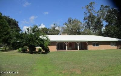 Iberia Parish Single Family Home For Sale: 4713 Loreauville Road