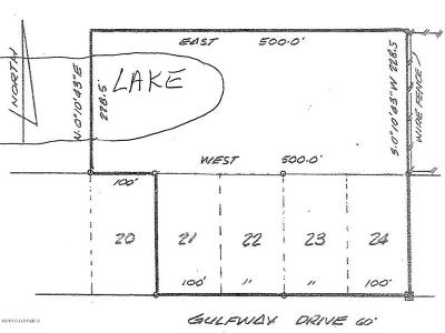 Cameron Parish Residential Lots & Land For Sale: Tbd Gulfway Drive