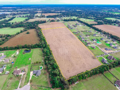 St Martinville, Breaux Bridge, Opelousas Residential Lots & Land For Sale: Tbd Rue De Hunter