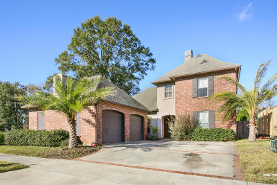 Lafayette Parish Single Family Home For Sale: 404 N Montauban Drive
