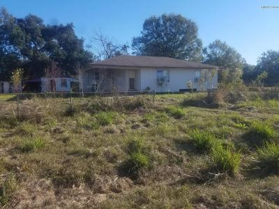 St. Martinville Single Family Home For Sale: 4869 Main Highway 31