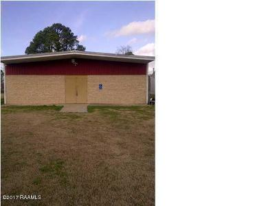 St Landry Parish Commercial For Sale: 604 La-3043