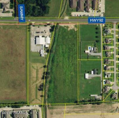 Vermilion Parish Residential Lots & Land For Sale: 001 Hwy 92