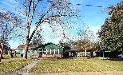 Rayne Single Family Home For Sale: 509 N Cunningham