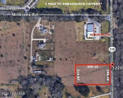 Lafayette Residential Lots & Land For Sale: 3220 Verot School Road