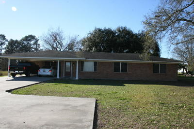 Erath Single Family Home For Sale: 12718 Hwy 339