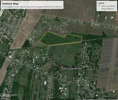 Iberia Parish Farm For Sale: 2309 Sugar Mill Road