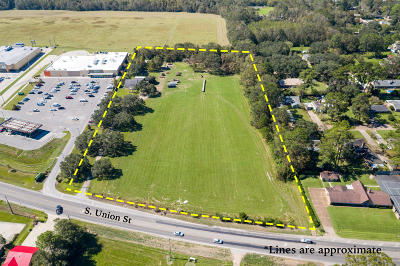 St Martinville, Breaux Bridge, Opelousas Residential Lots & Land For Sale: 2302 S S Union Street