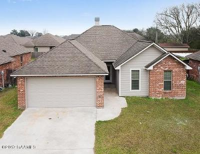 Duson Single Family Home For Sale: 207 Picasso Drive