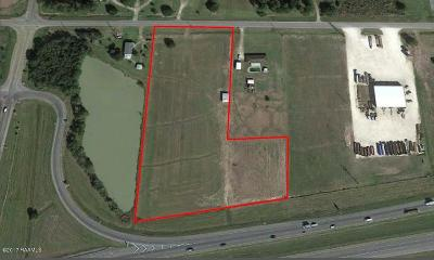 Acadia Parish Residential Lots & Land For Sale: Egan Hwy