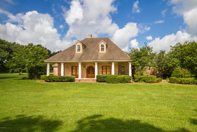 Carencro Single Family Home For Sale: 414 Magnolia Farms Road