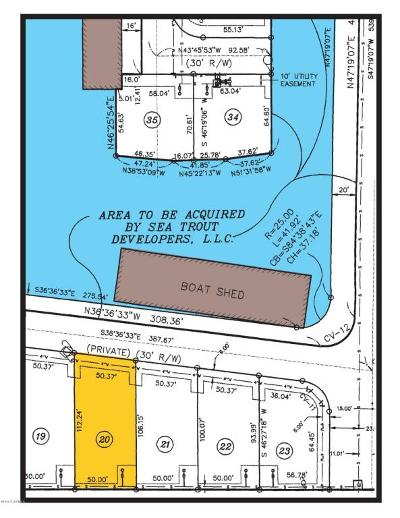 Pecan Island Residential Lots & Land For Sale: 20 Marina Road