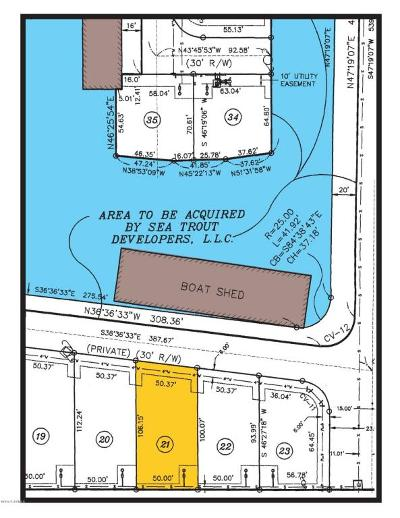 Pecan Island Residential Lots & Land For Sale: 21 Marina Road