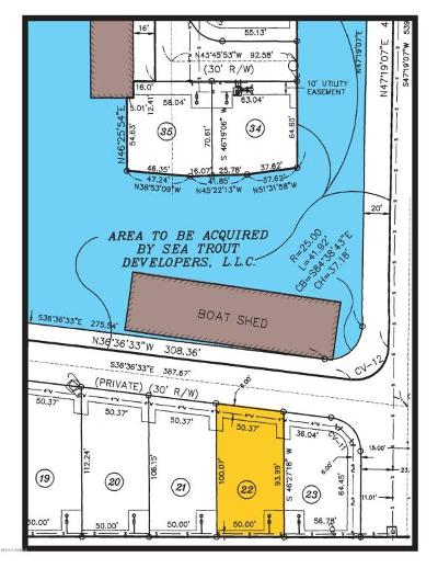 Pecan Island Residential Lots & Land For Sale: 22 Marina Road