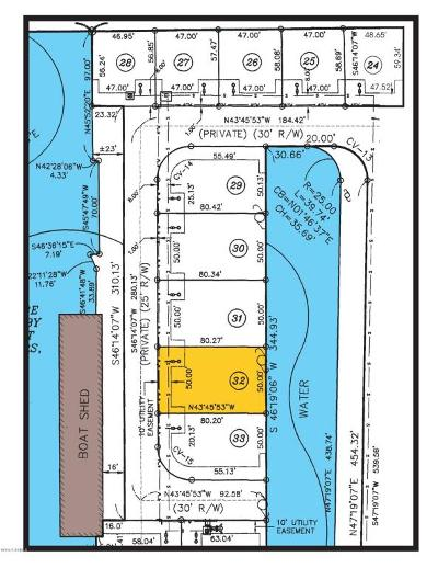 Pecan Island Residential Lots & Land For Sale: 32 Marina Road