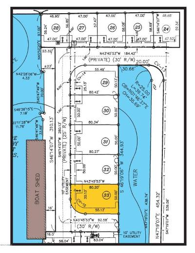 Pecan Island Residential Lots & Land For Sale: 33 Marina Road