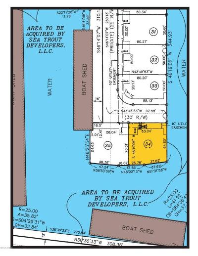 Pecan Island Residential Lots & Land For Sale: 34 Marina Road