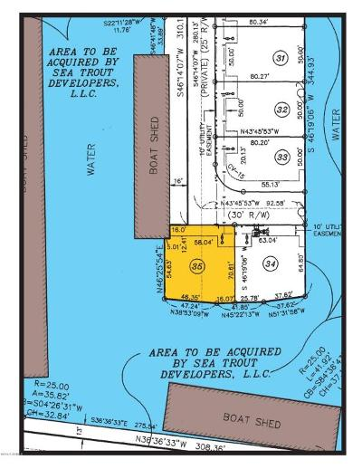 Pecan Island Residential Lots & Land For Sale: 35 Marina Road