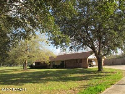 Eunice Single Family Home For Sale: 5740 Hwy 190