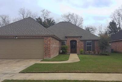 Carencro Single Family Home For Sale: 600 Pelican Ridge Cove