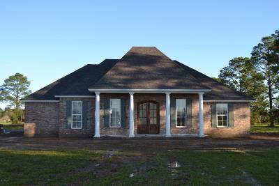 Single Family Home For Sale: 2525 Crowley Rayne
