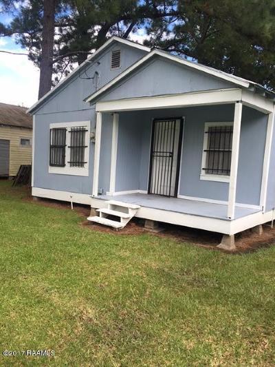 Opelousas Single Family Home For Sale: 113 Gennuso Street