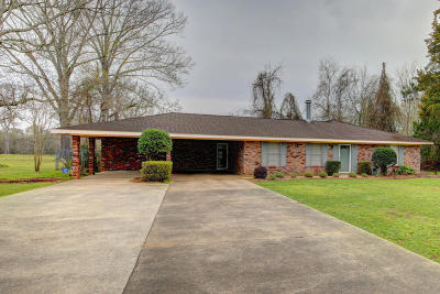 Carencro Single Family Home For Sale: 6720 N University