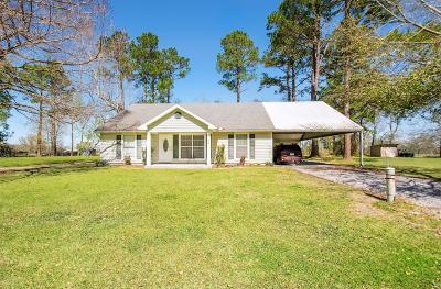 Arnaudville Single Family Home For Sale: 42 Hidden Hills Road