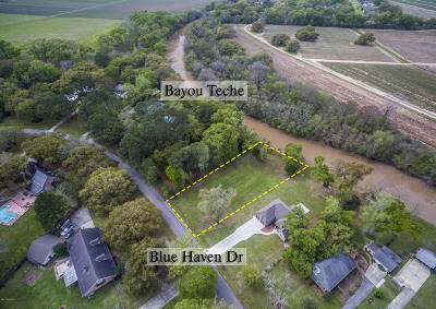 Iberia Parish Residential Lots & Land For Sale: Tbd Lot 13 Blue Haven Drive