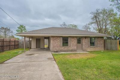 Carencro Single Family Home For Sale: 104 Clo Drive