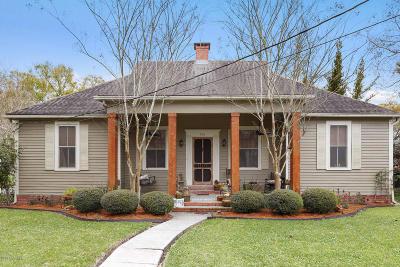 New Iberia Single Family Home For Sale: 336 Duperier Avenue - B