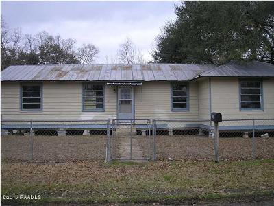 Mamou Single Family Home For Sale: 1539 Marie Street