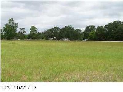 Acadia Parish Residential Lots & Land For Sale: Lot 2 Public
