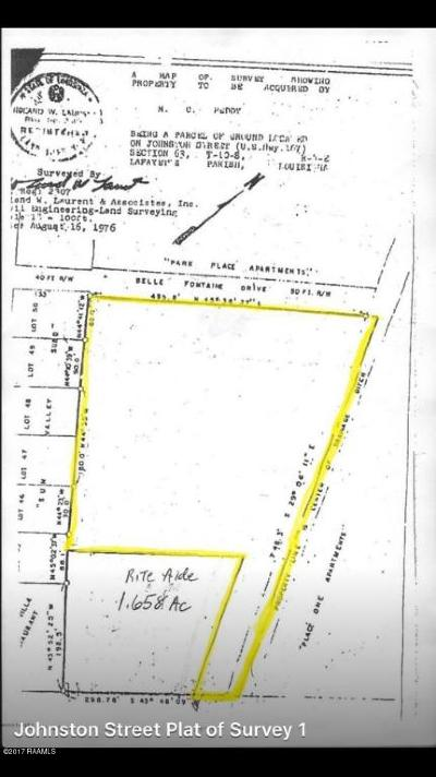 Lafayette Residential Lots & Land For Sale: 101 Belle Fontaine